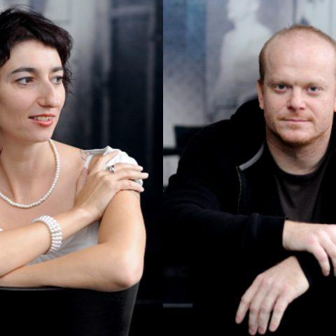 Simona Babčáková a David Novotný