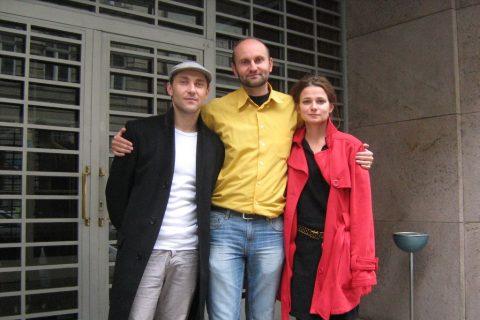 Petr Jeništa, Tomáš Syrovátka a Gabriela Pyšná
